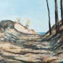 Prześwity 1, 70 x 90 cm, akryl, olej, płótno, 2013
