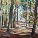 Prześwity 3, 70 x 90 cm, akryl, olej, płótno, 2013