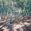 Prześwity 7, 100 x 150 cm, akryl, płótno, 2013/14